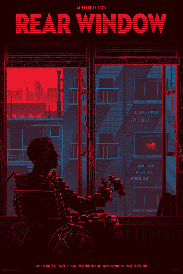 Rear Window by Kevin Tong