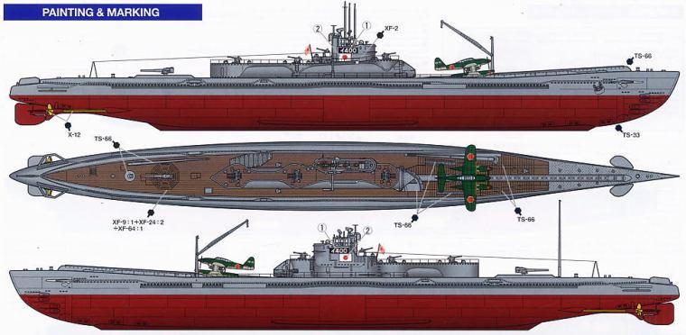I-400 Diagram B